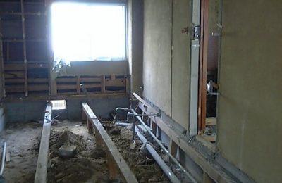 施工中の様子