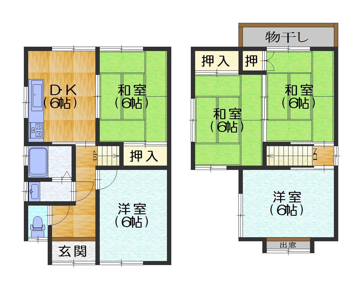 下植野B・新築 価格3112.5万円 イメージ