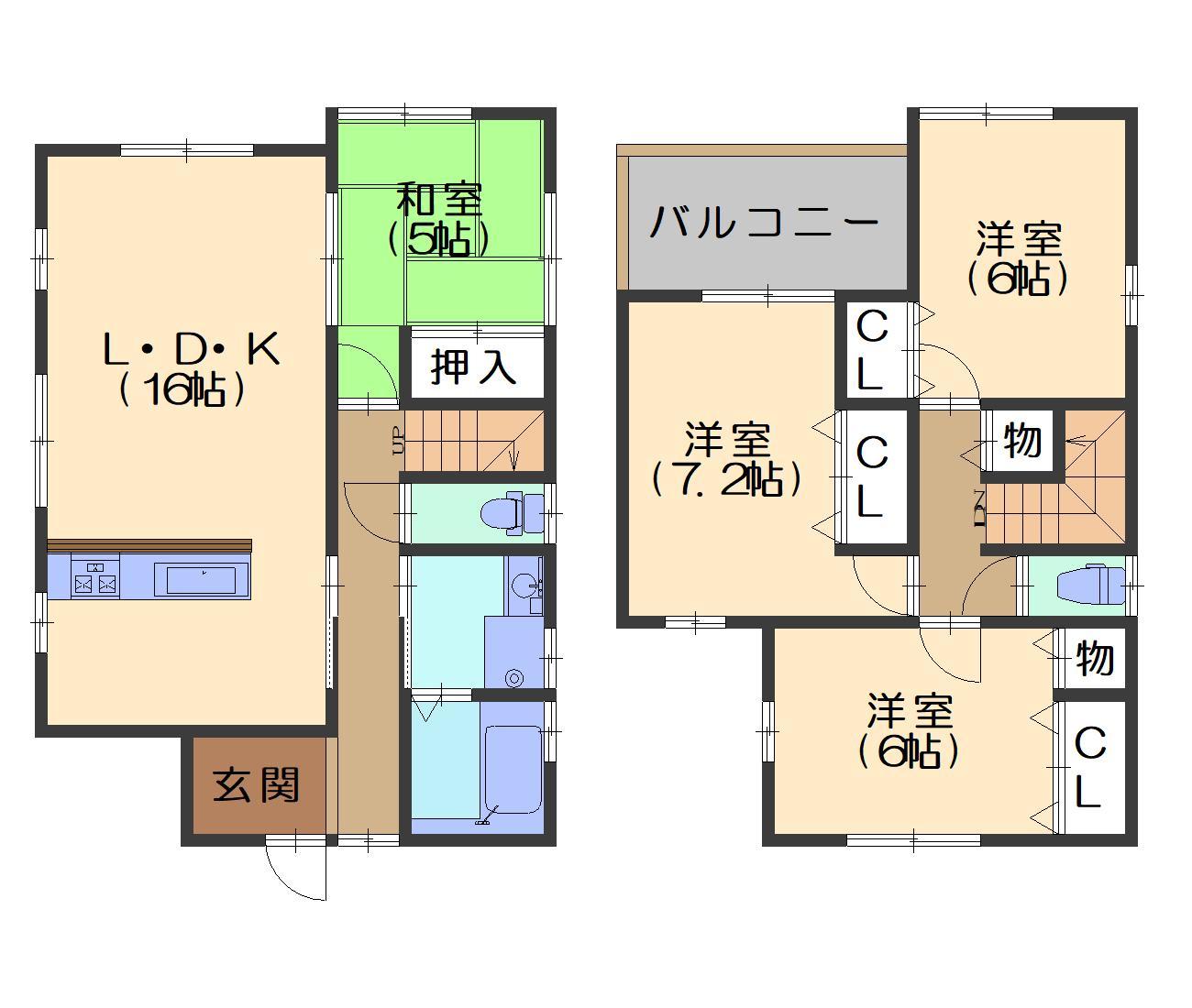 神足・新築 価格3198万円 イメージ