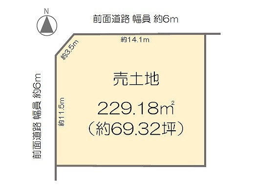 柴の里・土地 価格3980万円 イメージ