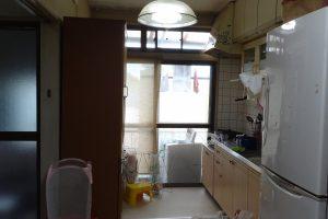戸建住宅 DK・和室変更工事 総額約175万円 BEFORE 0