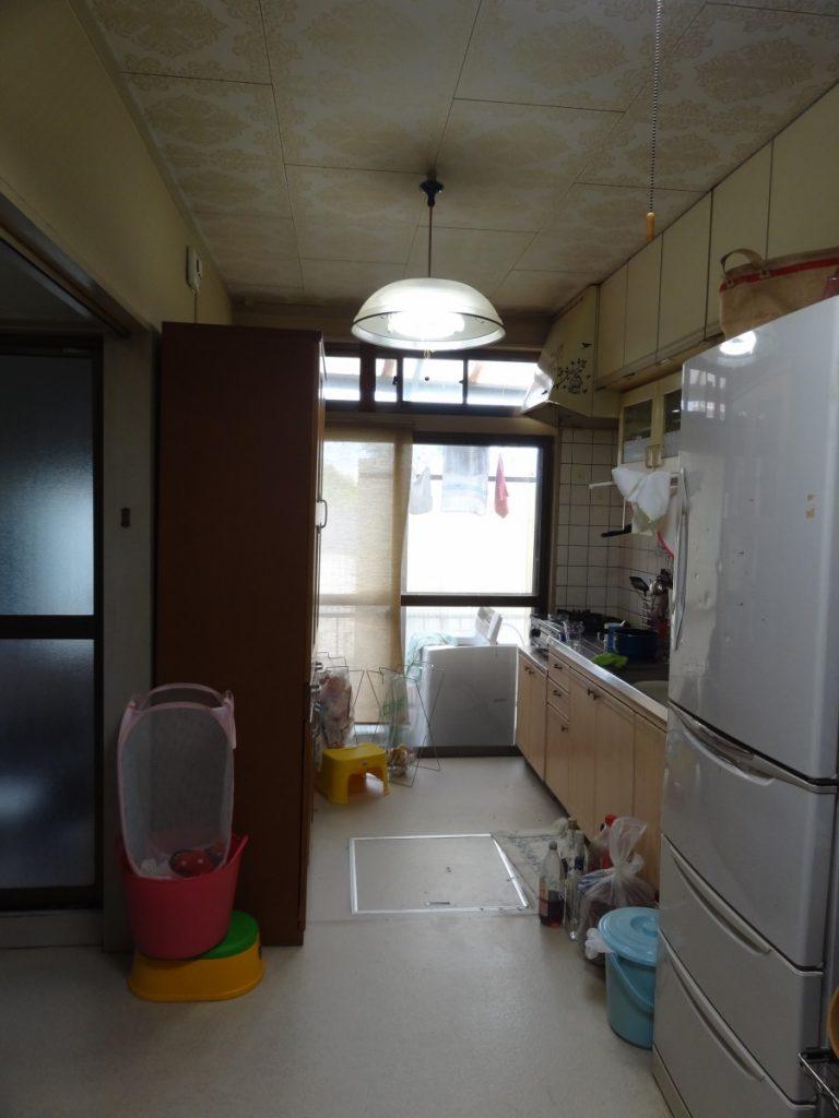戸建住宅 DK・和室変更工事 総額約175万円 BEFORE